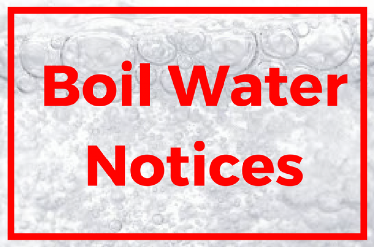 Boil Water Notices